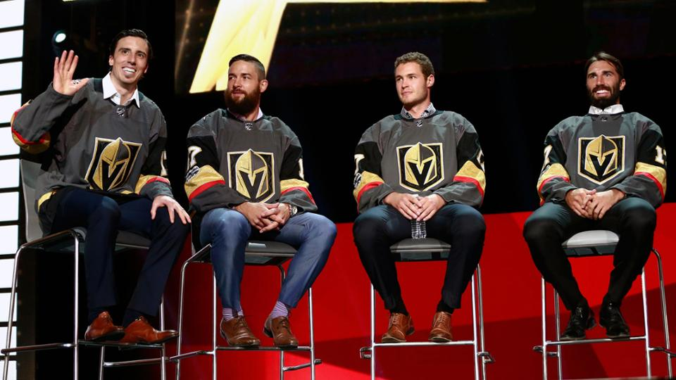 Golden Knights Roster Unveiled At Expansion Draft